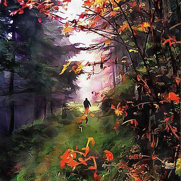 An Autumn Walk by ShannathShima