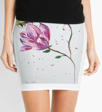 Bumble bee and Magnolia Mini Skirt