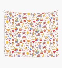 Toys toys toys Wall Tapestry