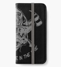 Firefighter I Born to Be in The Fire Novelty Gifts. iPhone Wallet/Case/Skin
