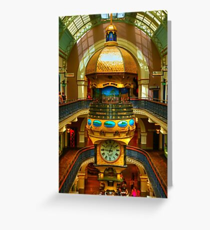 Queen Victoria Building - Sydney - Australia Greeting Card