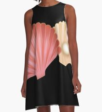 Shells with pearl A-Line Dress