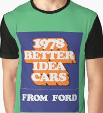 003   1978 Ford Matchbook Graphic T-Shirt