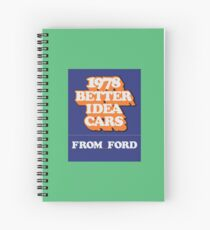003 | 1978 Ford Matchbook Spiral Notebook