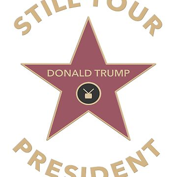 Donald Trump Hollywood Star Shirt by hockeymomnation