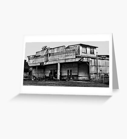Long Flat Motors - NSW - Australia Greeting Card