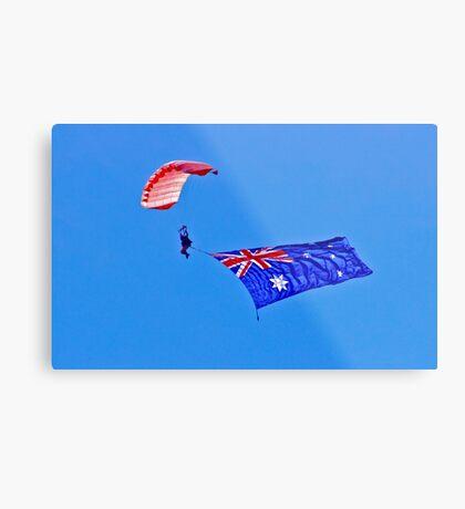 Flag Under Canopy - SYDNEY - AUSTRALIA Metal Print