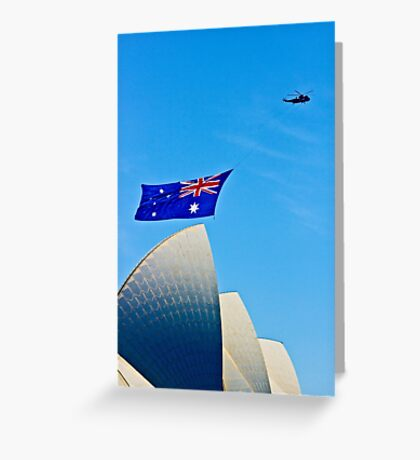 Australia Day Sails - Sydney Opera House Greeting Card