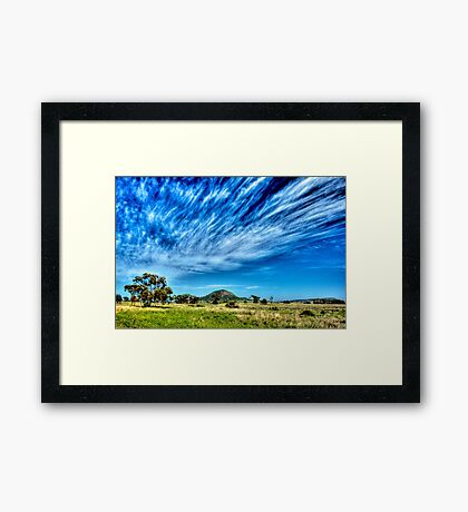 Arboreal Exhalation - Western NSW - Australia Framed Print