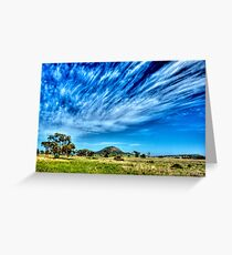 Arboreal Exhalation - Western NSW - Australia Greeting Card
