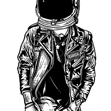 Astronaut Punk Spaceman  by ThatMerchStore