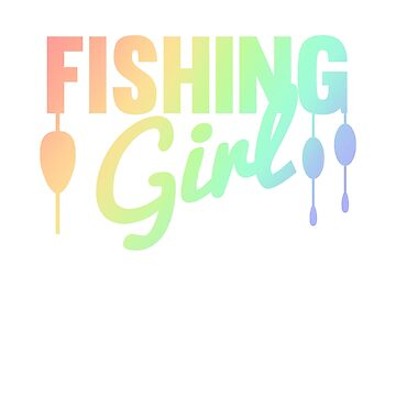 Fishing Girl Cool Fishing Lovers Vintage TeeColorful by Zkoorey