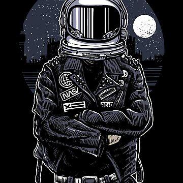 Cool Spaceman City Nasa by ThatMerchStore