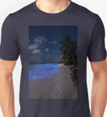Fluorescent plankton in the Maldives - Indian Ocean Unisex T-Shirt