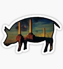 pink floyd - animals Sticker