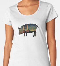 Rosa Floyd - Tiere Frauen Premium T-Shirts