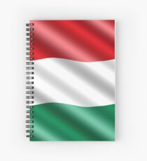 Nation Hungary Spiral Notebook