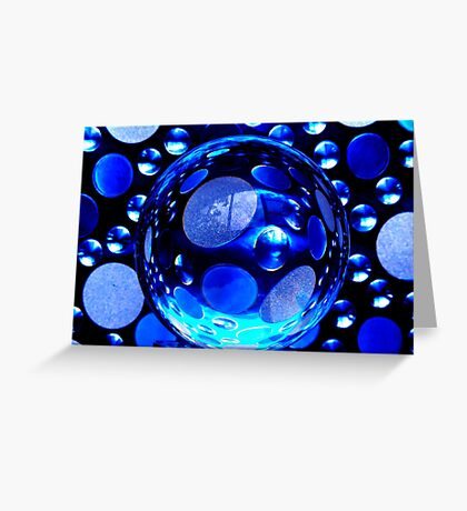 BUBBLEMANIA Greeting Card