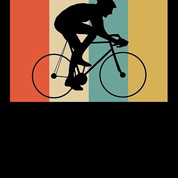 Retro Cyclist Vintage  by apstephens