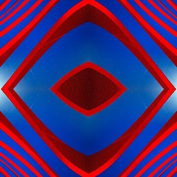 Architecture design collage   Petersen Automotive Museum by hypnotzd
