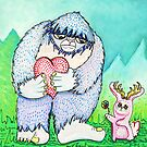 The Bigfoot and The Jackalope by Laura Barbosa
