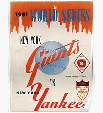 Yankees- retro Poster