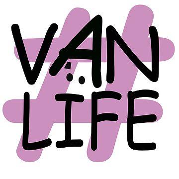Hashtag Van Life - Lilac by MyLovelyVan