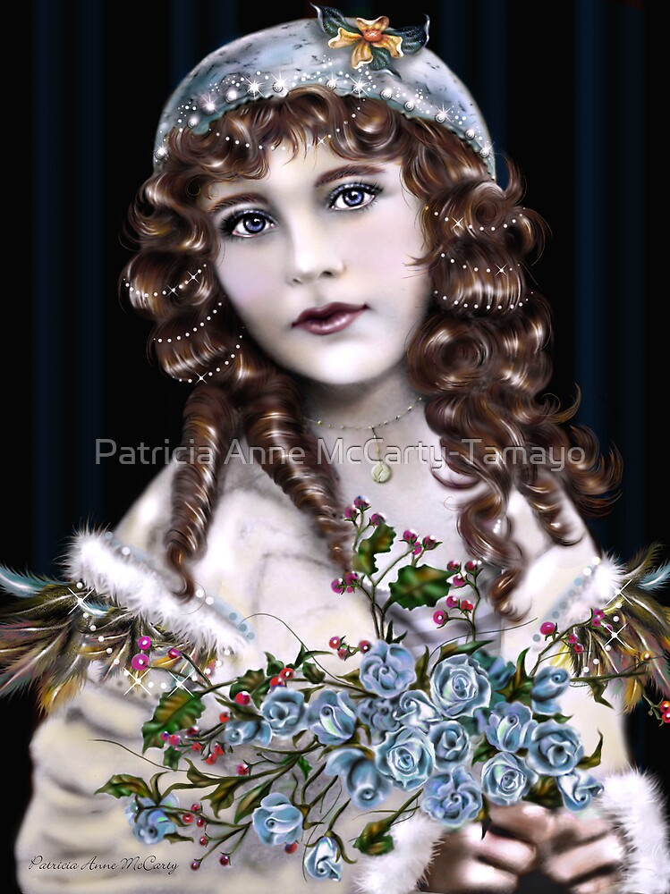 Little Brunette Head Girl by Patricia Anne McCarty-Tamayo