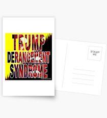 Trump Derangement Syndrome - TDS Postcards