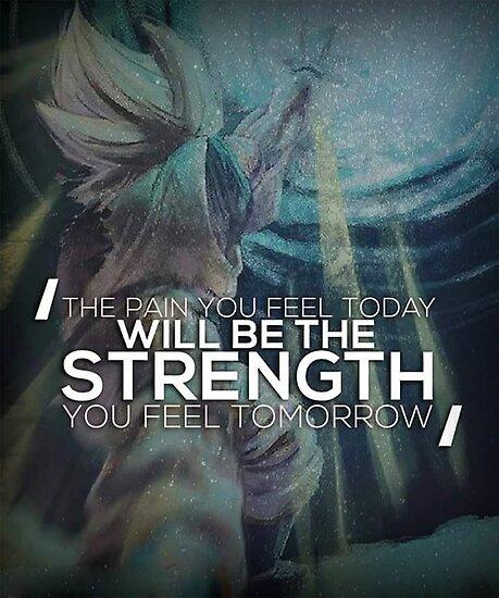 Schmerz heute, Stärke morgen von gohanflex