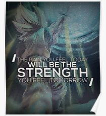 Pain Today, Strength Tomorrow Poster