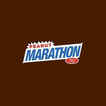 Retro Marathon (not Snickers, kids) chocolate bar logo: only 3p by unloveablesteve