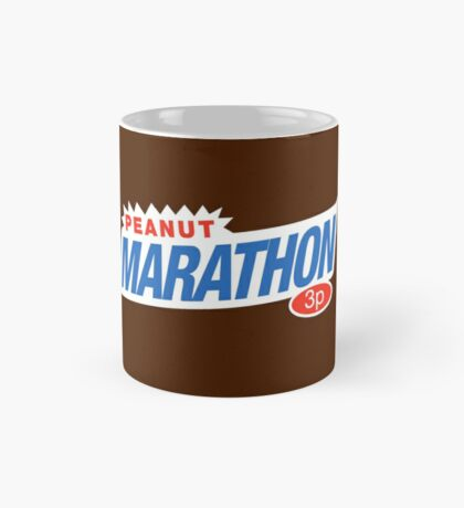 Retro Marathon (not Snickers, kids) chocolate bar logo: only 3p Mug