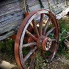 Old Wagon Wheel by Ray4cam