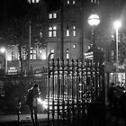 Night scene at Trinity College, Dublin by Esther  Moliné