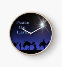 Peace on Earth Clock