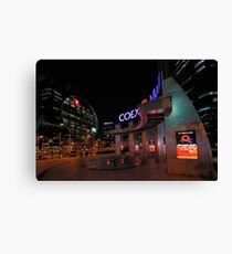 COEX Mall, Seoul Canvas Print