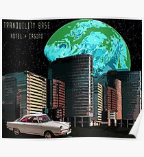 Tranquillity Basis Hotel + Casino Poster