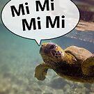 MiMiMiMi Sea Turtle von mrf2thed