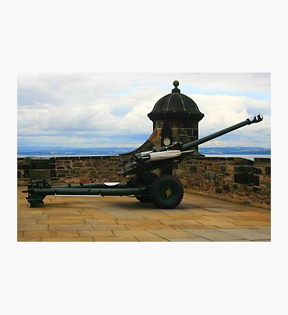 One'o'clock Gun Photographic Print