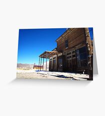 A quiet saloon Greeting Card