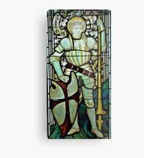 Saint George the Dragon Slayer Metal Print