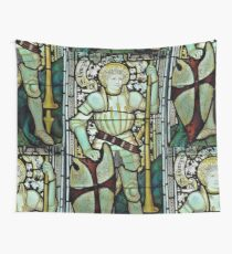 Saint George the Dragon Slayer Wall Tapestry