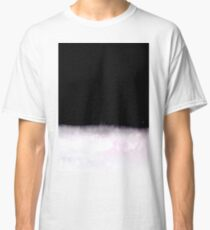 black and white abstract painting in minimal style Classic T-Shirt