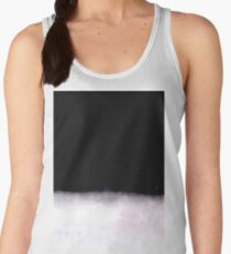 black and white abstract painting in minimal style Women's Tank Top