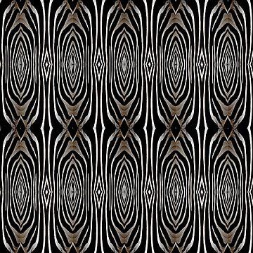 Abstract Zebra Print Fashion by redwindy