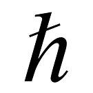 Planck constant, #Planck, #constant, #PlanckConstant, #Symbol by znamenski
