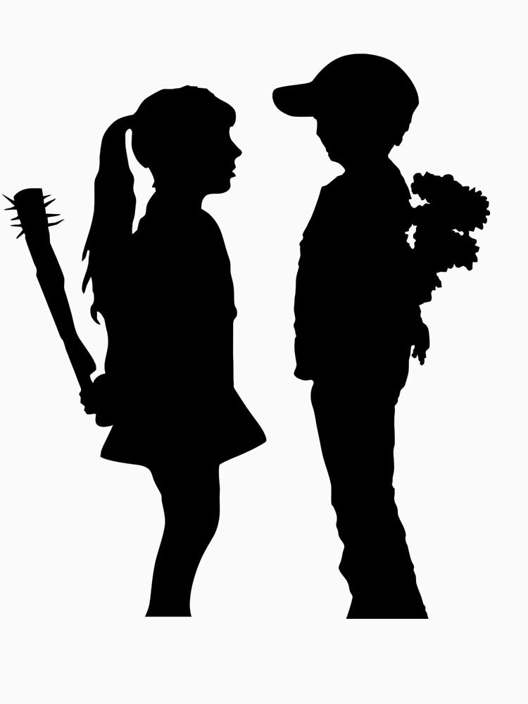 Banksy Boy trifft Mädchen! von ThatMerchStore