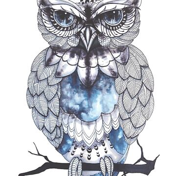 Owl, Animal Lover Gift, Nighttime, Nocturnal, Bird by ClothingSimple