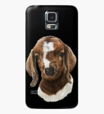 Portrait of a Goat  - Boer Goat Baby Nicklaus  Case/Skin for Samsung Galaxy